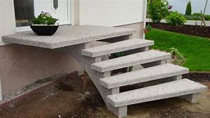 Treppe Hauseingang Bilder : au entreppen aus granit oder waschbeton ~ Markanthonyermac.com Haus und Dekorationen