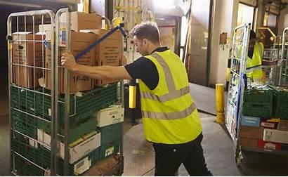 Environment Pushing Warehouse Waste Management Avfallshantering Cage