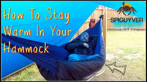 how to stay warm in a hammock how to stay warm in your hammock bottom insulation