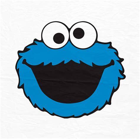 Cokkie Monster Svg Cookie Monster Head Sesame Street