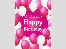 Lovely Birthday Balloon Card Birthday & Greeting Cards