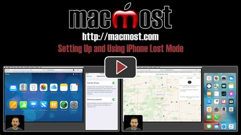 lost mode on iphone setting up and using iphone lost mode macmost 2029
