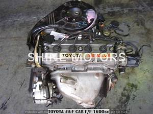 Used Engine Toyota 4a 1 6 Carb 16v Corolla