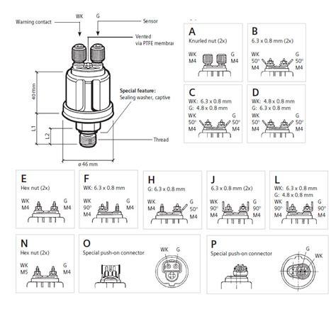 Vdo Iveco Oil Pressure Sensor Buy