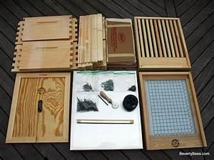 Unassembled Bee Hive Kit For Beginner Beekeepers