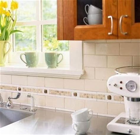 subway tile kitchen backsplash with accent tile subway tile backsplash with mosaic tile accent
