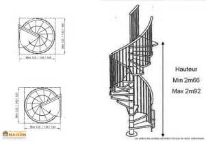 escalier en colimaon dimensions escalier colima 231 on en h 234 tre cyva levigne