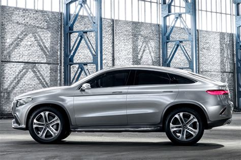 Mercedes Benz Concept Coupe Suv First Look Motor Trend