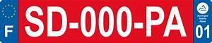 Plaque D Immatriculation Des Pays : plaque immatriculation rouge pays de gex d partement 01 pa01pg plakers plaques d ~ Medecine-chirurgie-esthetiques.com Avis de Voitures
