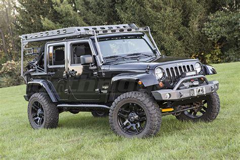 jeep jk roof rack jeep jk 4dr lod sliding roof rack bare steel jeep