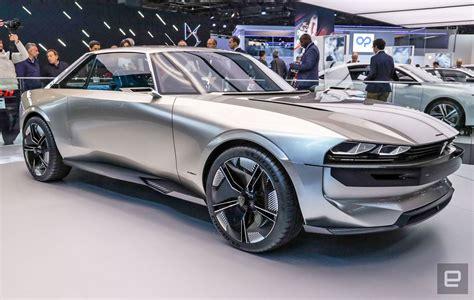 Peugeot's E-Legend concept EV is a futuristic throwback