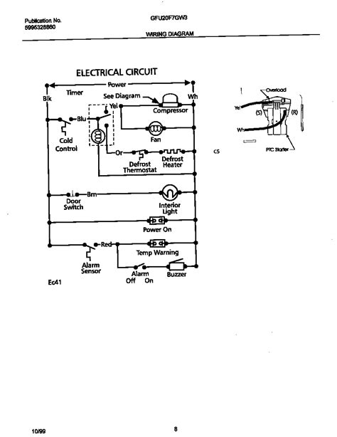 Gibson Freezer Wire Diagram by Wiring Diagram Diagram Parts List For Model Gfu20f7gw3