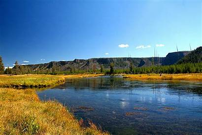 Fishing Yellowstone Fly Desktop Park Wallpapers River