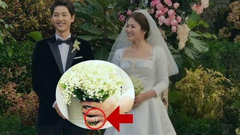 Song Hye-kyo's ,200 Wedding Bouquet Said To Cost More