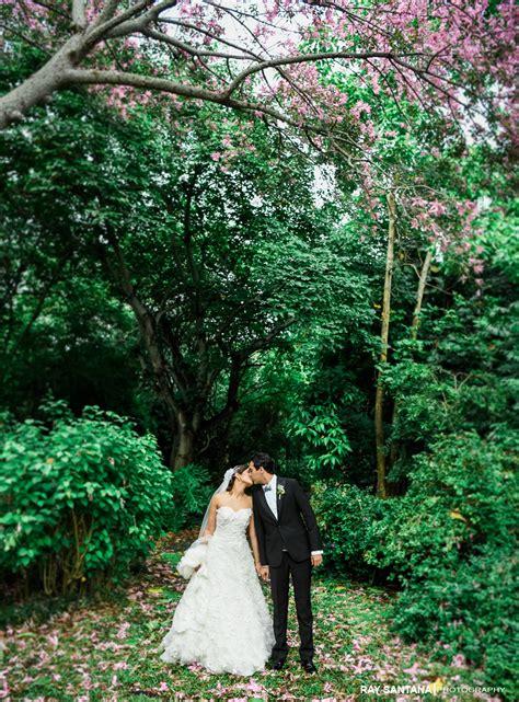 wedding fairchild tropical garden miami wedding