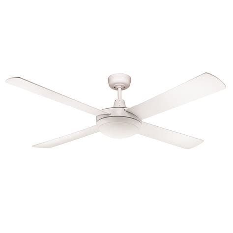 rotor 52 inch led ceiling fan white with 24w led light