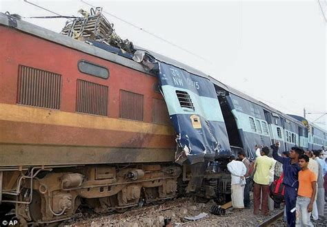 Train Crashes Into Another Train