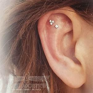 Birthday Chart Ideas Double Flat Earings Piercings Pretty Ear Piercings Ear