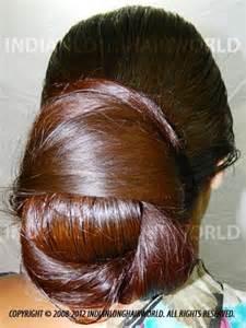 Very Long Hair Indian Buns