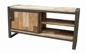 Meuble Tv Fer : catgorie meubles de tlvision du guide et comparateur d 39 achat ~ Teatrodelosmanantiales.com Idées de Décoration