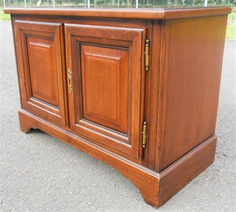 antique kitchen cabinets small mahogany low cupboard 4083