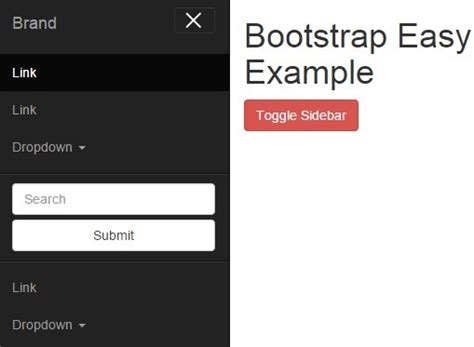 Create An Off-canvas Sidebar Navigation With Jquery And
