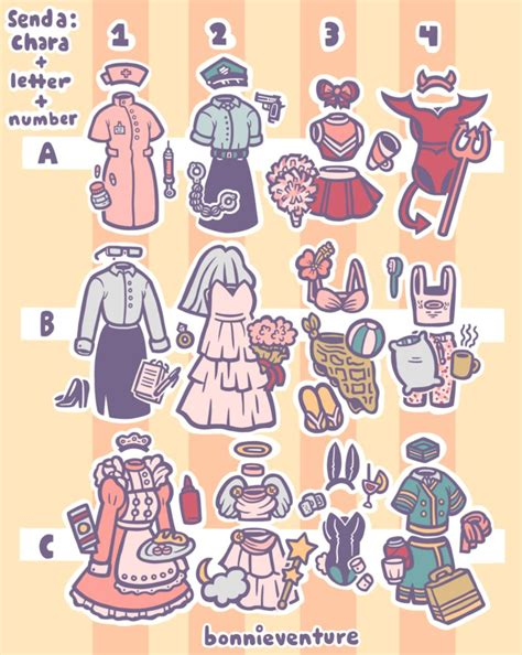 Outfit Prompt Drawing Meme by aychh on DeviantArt