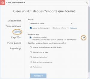 numeriser des documents au format pdf adobe acrobat With scanner un documents