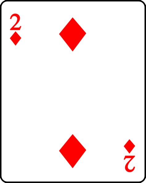 two player card file playing card diamond 2 svg wikimedia commons