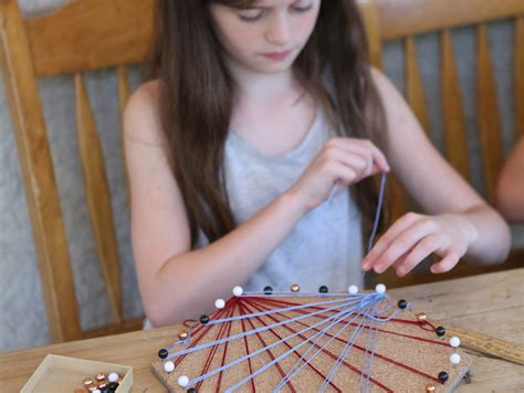 craft cool string art  kids scholastic parents