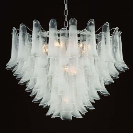 quot calypso quot lustre en cristal de murano murano glass