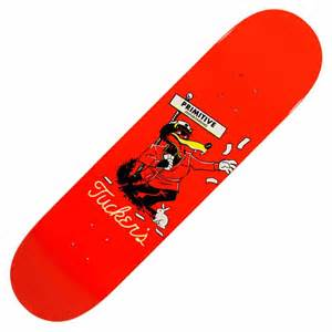 primitive skateboarding tucker wolfies skateboard deck 8 0