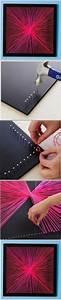 Leinwand Aufhängen Schnur : ber ideen zu leinwand selber gestalten auf pinterest selbstgemachte leinwandkunst ~ Yasmunasinghe.com Haus und Dekorationen