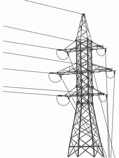 Power Grid Electricity Line Electric Electrical Tower