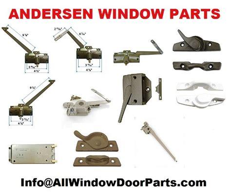 andersen anderson window  patio door parts  parts id  truth window hardware