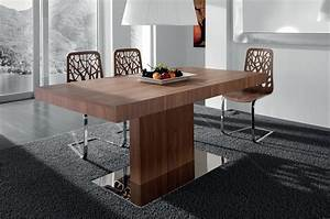 Cool Modern Dining Room Furnishings Design With Brown ...
