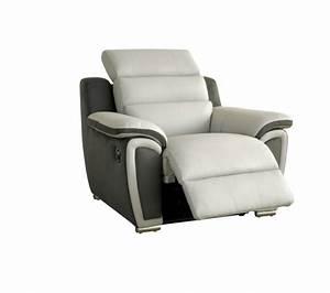 Fauteuil Electrique Conforama : fauteuil relax ~ Teatrodelosmanantiales.com Idées de Décoration