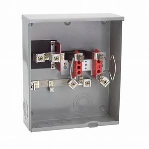 Milbank 200 Amp Ringless Underground Meter Socket-r1980-o-hsp