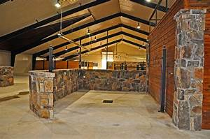 clayton boyd industries custom horse barn covered riding With covered horse stalls