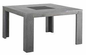 Table Carree Chene : table carr e ch ne gris bella 140 ~ Teatrodelosmanantiales.com Idées de Décoration