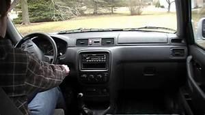 Honda Crv 5-speed Manual Walk-around  Test Drive