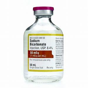 Sodium Bicarbonate 8 4   50meq  Vial  Sdv  50ml Vial
