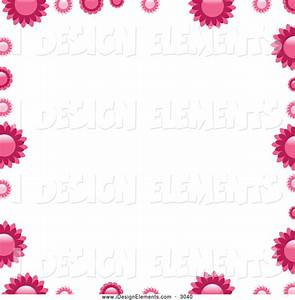 habrumalas: Pink Flower Border Clip Art Images