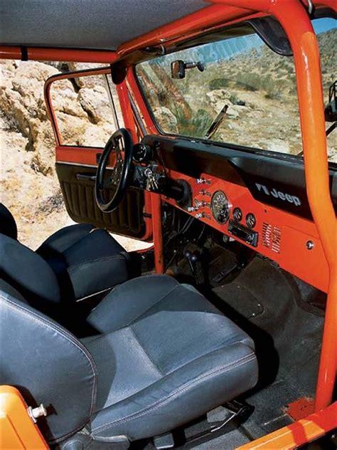 cj jeep interior 1982 jeep cj 8 scrambler off road vehicle 4wd sport