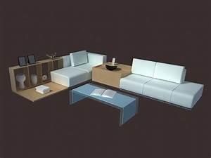 modern living room set furniture 3d model 3dsmax files With living room furniture 3d model free download