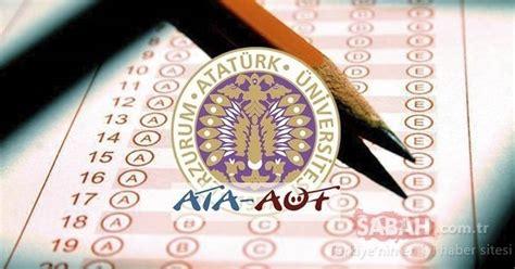 Ata aöf atatürk üniversitesi açıköğretim fakültesi bütünleme sınav sonuçlarıyle ilgili henüz açıklama yapmadı. ATA AÖF sınav sonuçları 2021 ne zaman belli olacak ...