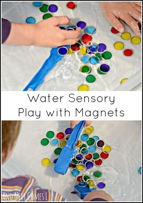 water sensory play with magnets sensory play sensory 888 | a302383776b8740e08cc8fda40a125d5