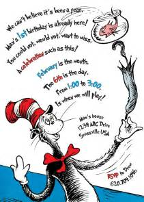 cat in the hat birthday the cat in the hat birthday invitation printable
