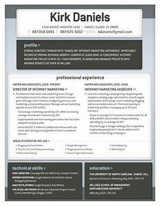 Stand out resume Work Related