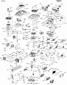 Kohler Xt173 One Page Model Composite Parts Diagram For Engine